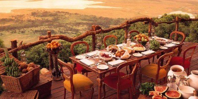 Ngorongoro Crater Lodge Breakfast 1